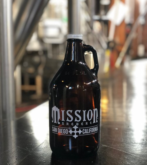 craft beer growler container