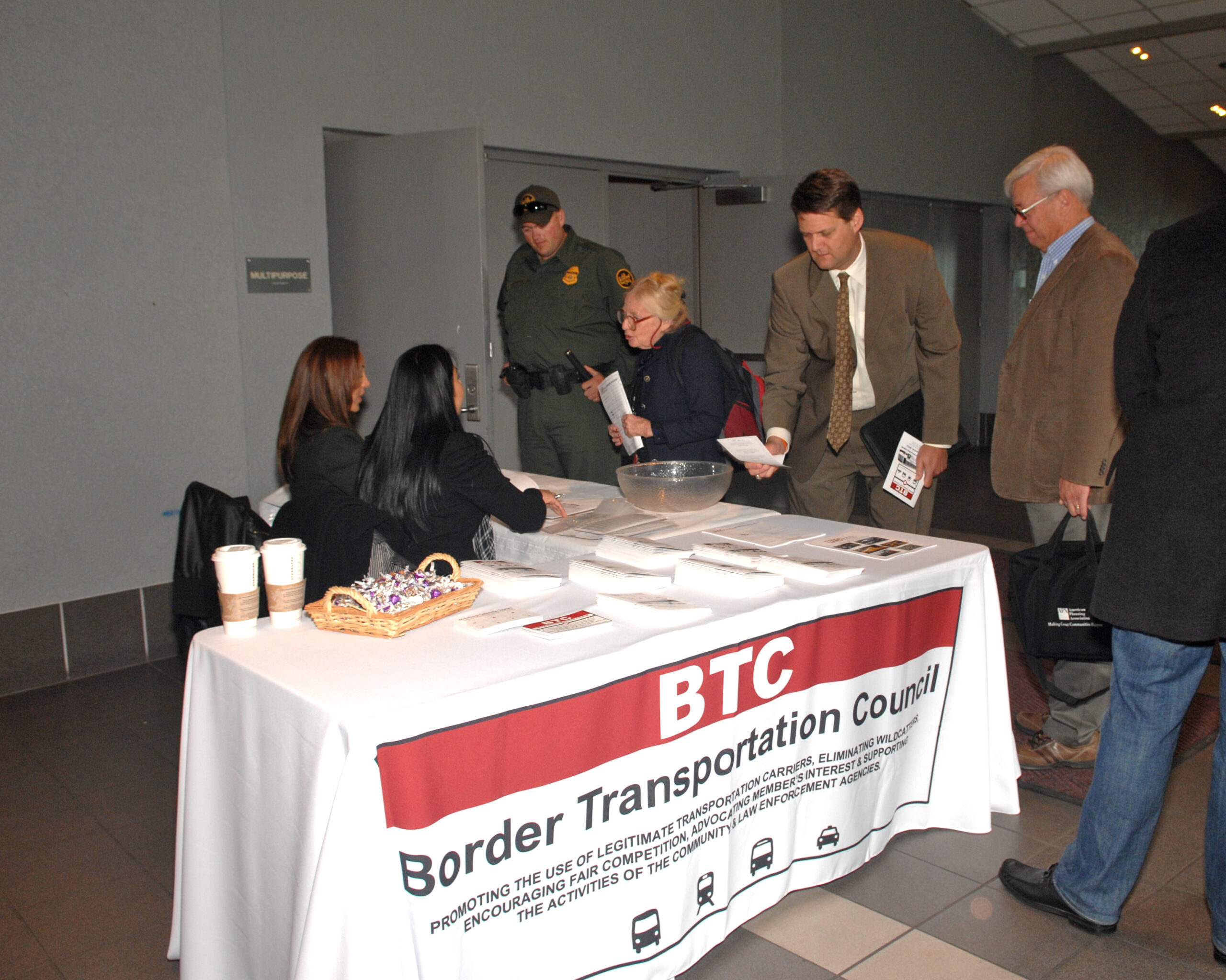 Officials and community leaders attending forum on border transportation